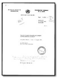 World Health Organization : Organisation... by Sarah Israel