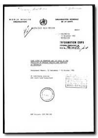 World Health Organization : Organisation... by Sudithanne Justice