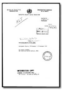 World Health Organization : Organisation... by Lennart Sundbom