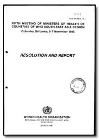 South-East Asia Series : Year 1985-93, S... by World Health Organization