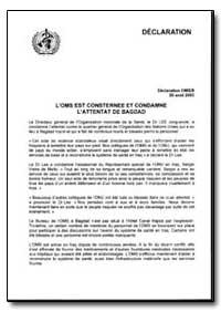 Statement, Year 2003 - Statement, No. 03... by World Health Organization