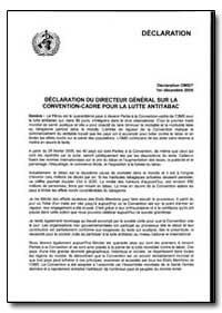 Statement, Year 2004 - Statement, World ... by World Health Organization
