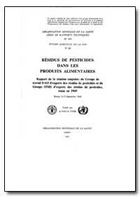 World Health Organization : Technical Re... by D. C. Abbott