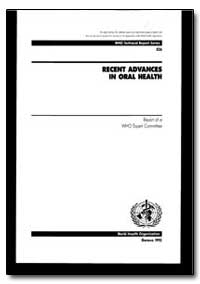 World Health Organization : Technical Re... by T. Axell