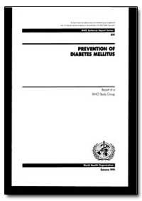 World Health Organization : Technical Re... by H. Akerblom