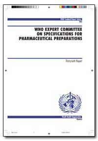 World Health Organization : Technical Re... by I. O. Kibwage
