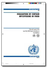 World Health Organization : Technical Re... by M. Bolger