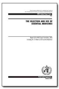 World Health Organization : Technical Re... by A. Helali