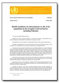 World Health Organization : World Health... by Missing Page