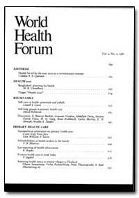 World Health Organization : World Health... by Comlan A. A. Quenum