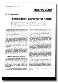 World Health Organization : World Health... by M. R. Choudhury