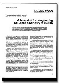 World Health Organization : World Health... by Government White Paper