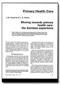 World Health Organization : World Health... by J. M. Kasonde