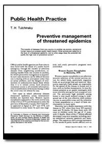World Health Organization : World Health... by T. H. Tuichinsky