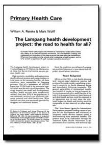World Health Organization : World Health... by William A. Reinke, Dr.