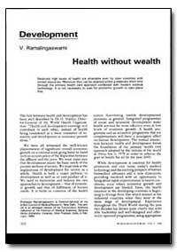 World Health Organization : World Health... by V. Ramaligaswami