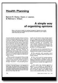 World Health Organization : World Health... by Barnett R. Parker
