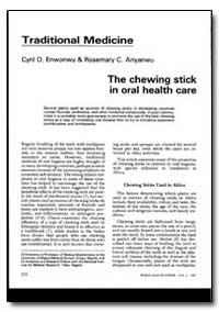 World Health Organization : World Health... by Cyril O. Enwonwu