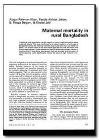 World Health Organization : World Health... by Atiqur Rahman Khan
