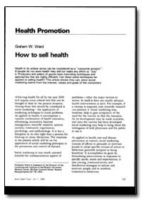 World Health Organization : World Health... by Graham W. Ward