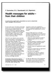 World Health Organization : World Health... by P. Saminathan