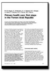 World Health Organization : World Health... by M. M. Haggar