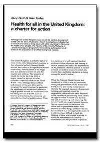 World Health Organization : World Health... by Alwyn Smith