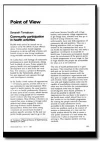 World Health Organization : World Health... by Senarath Tennakoon