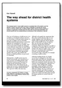 World Health Organization : World Health... by Ken Newell
