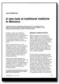 World Health Organization : World Health... by Jamal Bellakhdar
