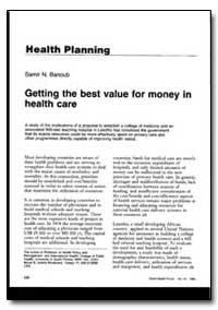 World Health Organization : World Health... by Samir N. Banoub