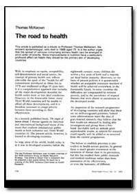World Health Organization : World Health... by Thomas Mckeown