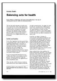 World Health Organization : World Health... by Hamida Sheikh