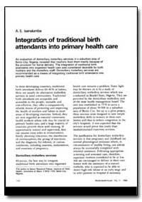 World Health Organization : World Health... by A. E. Lsenalumbe