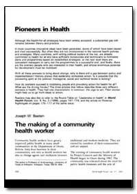 World Health Organization : World Health... by Joseph W. Bastien