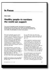 World Health Organization : World Health... by Nafis Sadik