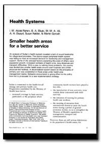 World Health Organization : World Health... by I. M. Abdel Rahim