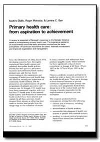 World Health Organization : World Health... by Lssakha Diallo, Dr.