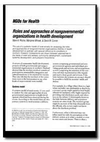 World Health Organization : World Health... by Mark A. Ritchie, Dr.