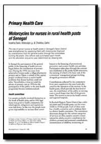 World Health Organization : World Health... by Lssakha Diallo