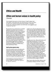 World Health Organization : World Health... by Z. Bankowski