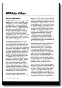 World Health Organization : World Health... by John E. Ehiri