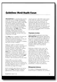 World Health Organization : World Health... by Rebecca J. Cook