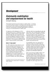 World Health Organization : World Health... by H. A. Akinsola