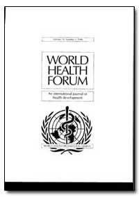 World Health Organization : World Health... by B. Thylefors
