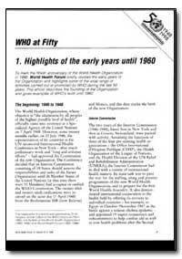 World Health Organization : World Health... by Bruce Sayers