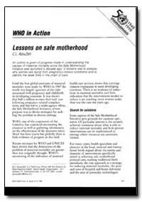 World Health Organization : World Health... by T. Adams