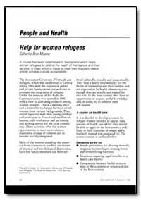 World Health Organization : World Health... by Catherine Brun Miserez