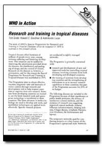 World Health Organization : World Health... by Tore Godal