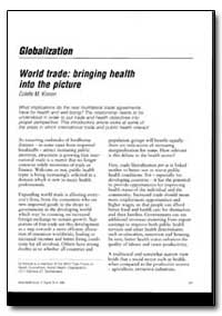 World Health Organization : World Health... by Lgor A. Fedotov